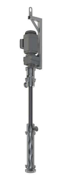 Exzenterschneckenpumpe: Elastomerfreie Pumpe