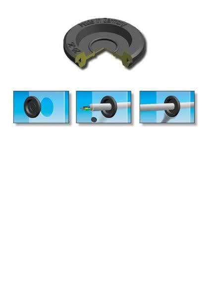 Gummidurchführungen: Mit Joystick-Effekt