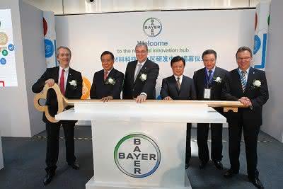 Eröffnung des Innovationszentrums in Shanghai