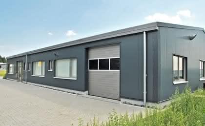 Hallen-Baukasten-System: Miet-Halle nach Wunsch