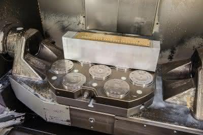 Nullpunktspannsysteme: Maschinenlaufzeiten erhöhen