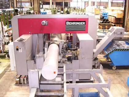 Hochleistungsbandsäge: Aluminium wirtschaftlich sägen