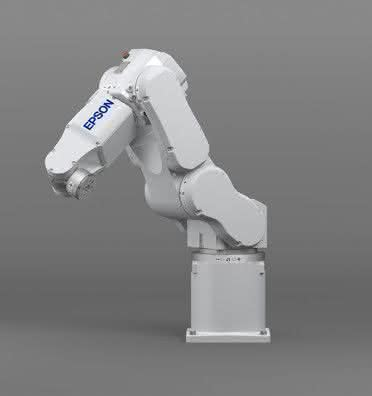 6-Achsroboter: Kompaktes, leichtes Gehäuse