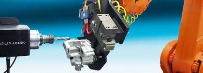 HighTech-Lösung: Automatisierung in Gießereien.: Rauer Umgang mit dem Roboter