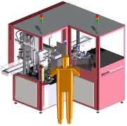 Roboterlösungen: Umluft-Temperiertunnel mit Kühlstation