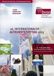 News: 16. Internationaler Altkunststofftag am 11./12. Juni - Kunststoffrecycling verstehen