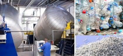 Taumelreaktoren: Eigenschaften von Polyestern und von Polyamiden verbessern