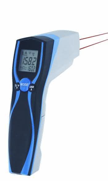 Infrarot-Handthermometer: Geschützt vor Spritzwasser