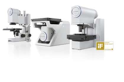 Short News aus der Branche: DSX-Mikroskopserie gewinnt Designpreise