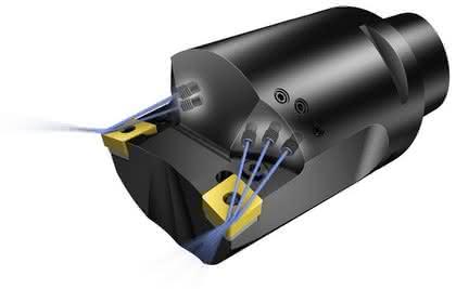 Werkzeughalter: Neue Düsentechnologie