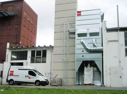 PVC-Aufbereitung, Projekt Tönsmeier: Absaugtechnik in der PVC-Aufbereitung