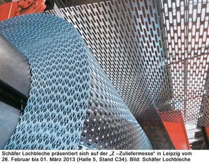Schäfer Werke in Kürze: Über 400 Lochbilder