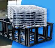 Behälter für die Automobilzuliefererlogistik optimiert: Variable KLT-Box dank Thermoformen