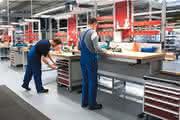 Arbeitsplatzsysteme: Merkmal Flexibilität