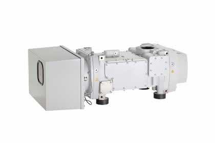 Schrauben-Vakuumpumpe: Kompakt und wassergekühlt