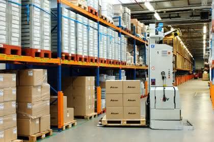 Lagerautomatisierung: Steriler Standard