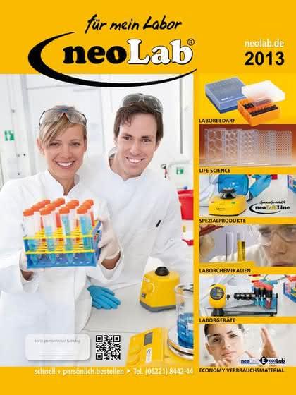 neoLab-Katalog 2013: Laborbedarf kompakt