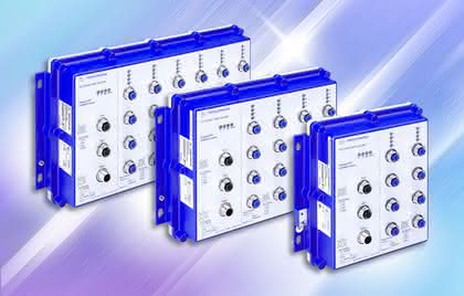 IP67-Switch: Sichere Anbindung
