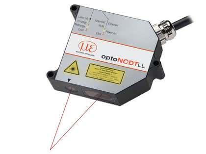 Laser-Wegsensor: Auf ganzer Linie