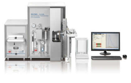 Elementanalysator CS-2000 von ELTRA: C- und S-Bestimmung in organischen und anorganischen Feststoffen