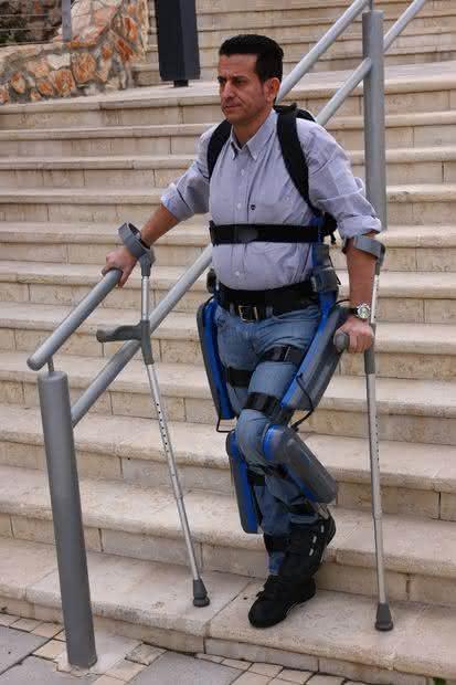 Kegelräder: Nach Lähmung wieder mobil