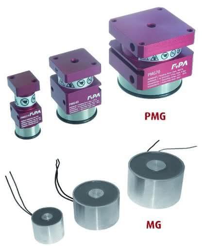 Magnetgreifer: Hohe Haltekraft