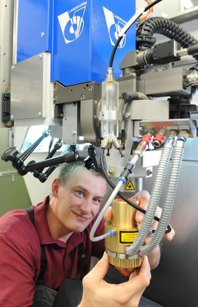 Lasercladding-Verfahren: Neues Verfahren