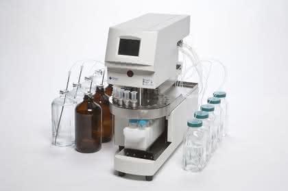 Extraktion aus organischen Matrices: Automatisierte SPE