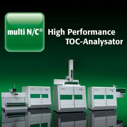 TOC-Analysator multi N/C: Multitalent