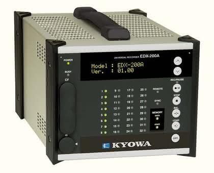 Universalrecorder EDX-200A: Messdatenverarbeitung