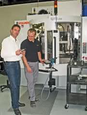 Schärfmaschine: PKD-Bohrwerkzeuge mannlos fertigen