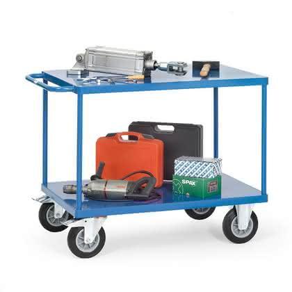 Tischwagen: Fahrender Tisch