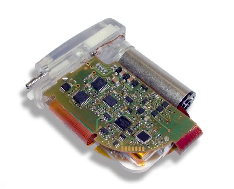 Effiziente Antriebe für Aszites-Implantat: Pumpwerk im Bauchraum