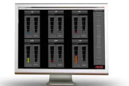 Softwareplattform Flow Vision MX: Software automatisiert das Mischen von Gasen