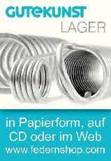 Kataloge: Gutekunst + Co. KG Federnfabriken