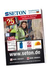 News: Jubiläums-Katalog: Sicherheits- und Kennzeichnungsprodukte von SETON