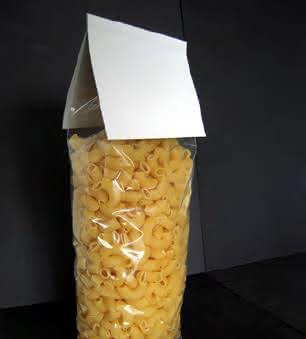 Verpackungsmaschine SBS 250: Tüte unterm Dach