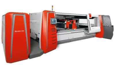 Laserschneidanlage: Arbeitet autonom