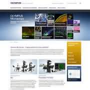 News: Neue Internetseite von Olympus Life-Science-Mikroskopie