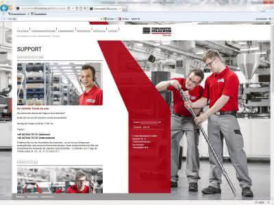 Internetauftritt: Ferromatik Milacron mit neuer Website online