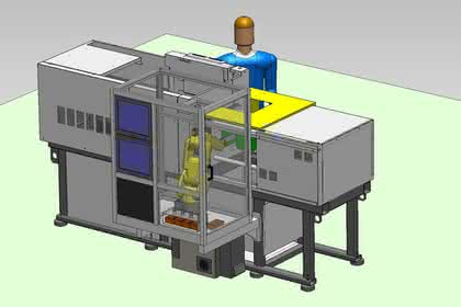 Fertigungszellen: Zweikomponententechnik in der Fertigungszelle