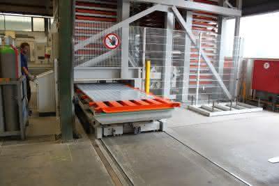 Automatisches Blechlager: Zentrum der Teilefertigung