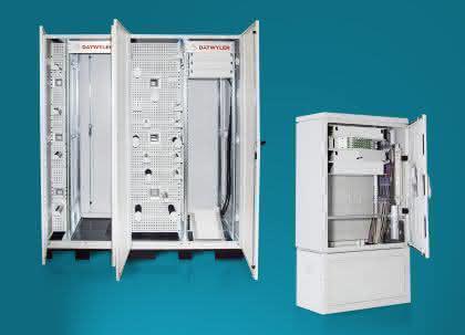 Breitbandnetze: Modulare ODF und Kabelverzweiger für den FTTx-Ausbau