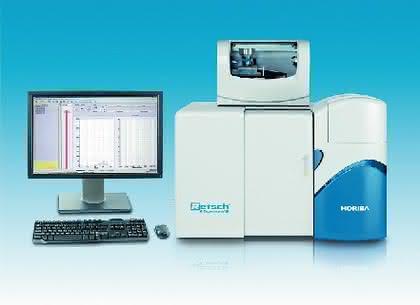 Partikelgrößenanalysator LA-950: Partikelanalyse: Laser-Streulichtspektrometrie