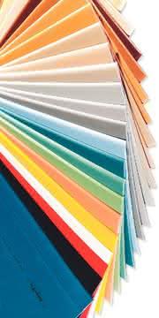 Additive, Farben: Aus 15Farben zum gesamten Pantone-Fächer
