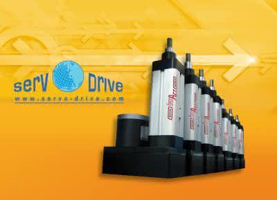 Motek: A-Drive präsentiert elektrisch angetriebene Stellzylinder