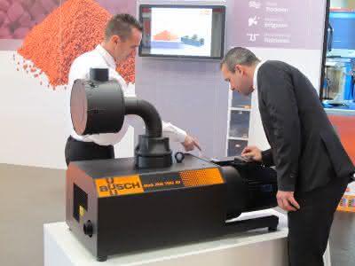 Werkstoffe: Vakuumpumpe für die Kunststoffindustrie