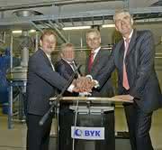 News: Byk Kometra eröffnet Produktionsneubau in Schkopau