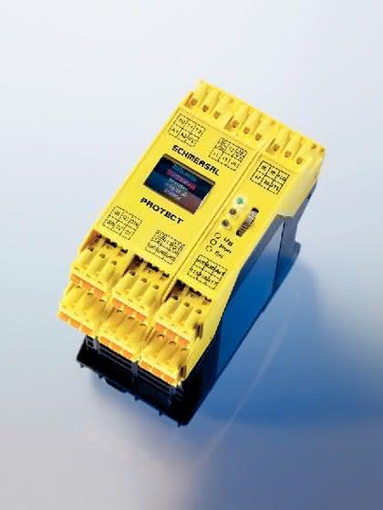 Antriebstechnik: Sicherheits-Kompaktsteuerung: Sicherheit für alle Fälle