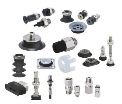 Vakuumsauger: Zahlreiche neue Ausführungen von SMC Pneumatik